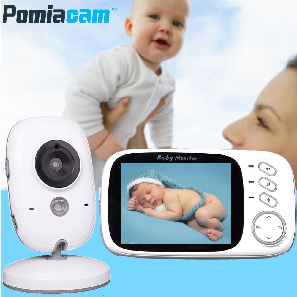 Moniteur bébé couleur vidéo sans fil 2.4 GHz VB601 VB603 VB605 haute résolution bébé nounou caméra de sécurité interphone garde d'enfants