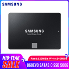 SAMSUNG SSD 860 EVO 500GB Solid State Disk internal Hard Drive SATA3 2.5inch ssd for Laptop Desktop PC(MZ-76E500B/CN)