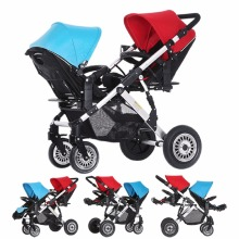 3 in 1 baby jogger twins inline double stroller pram high landscape