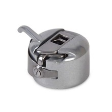 Silver Sewing Machine Metal Bobbin Spool Case For Toyota Brother Janome Elna Bernina Singer Kenmore Sewing Machine Accessorries [available from 10 11] sewing machine brother ml 750