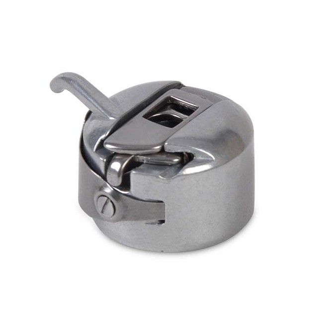 Zilver Naaimachine Metalen Spoel Spool Case Voor Toyota Brother Singer Kenmore Naaimachine Accessorries