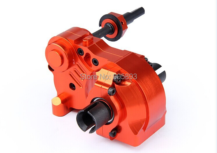 baja CNC Gear Box Assembly Set. Orange color free shippings orange box with cs1 6