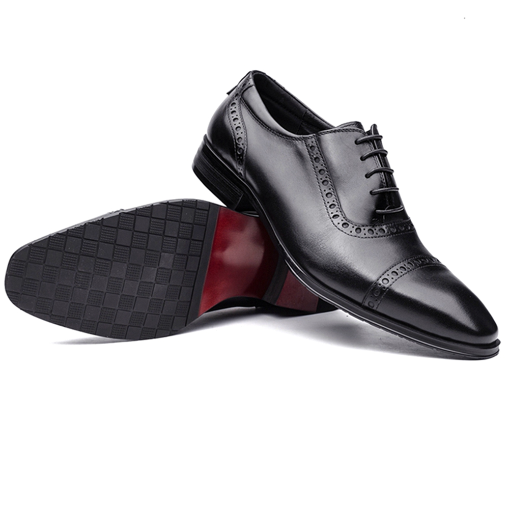 Men's Boots Shoes Reasonable Otto Zone Italian Designer Oxford Vintage Dress Shoes Brand Genuine Leather Men Basic Casual Shoes Male Business Wedding Shoes