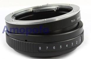 Amopofo LR-M4 / 3 Tilt Lens Adapter untuk Leica R L / R Mount Lens - Kamera dan foto