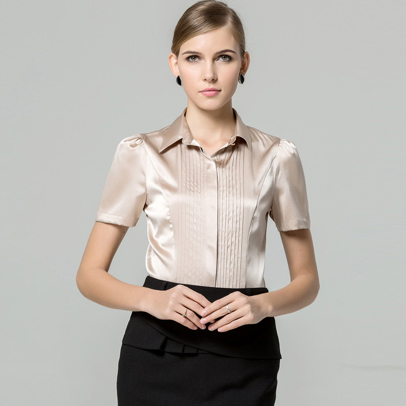 Compare Prices on White Satin Shirt- Online Shopping/Buy Low Price ...