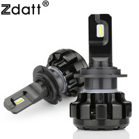 Zdatt Super Bright Car Headlights H7 LED H4 HB2 9003 H8 H9 H11 HB3 9005 H1
