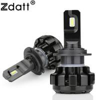 Zdatt Super Bright Car Headlights H7 LED H4 HB2 9003 H8 H9 H11 HB3 9005 H1
