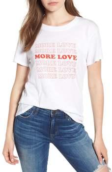 more love t shirt grunge tumblr Feminina Hippie camisetas street style aesthetic graphic funny women casual vintage 90s tee tops