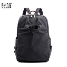BRIGGS Man travel bag mountaineering backpack Men canvas bucket shoulder bags Male Canvas Backpacks Large capacity Rucksack sac цена 2017