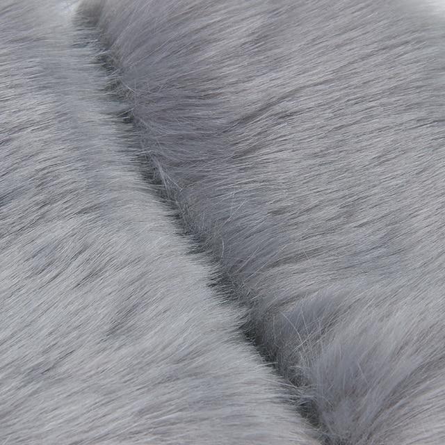 New Fashion Faux Fur Coat Winter Coat Women Waist Coat Fur Gilet Women's Fur Jacket Fur Vest For Ladies 6