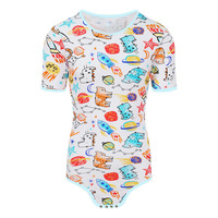 ABDL Diaper Lover Adult Bodysuit Adult Baby Sissy ddlg/abdl Clothing Onesie Snap Crotch Romper Pajamas