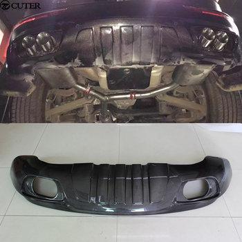 Q5 ABT style Carbon Fiber Rear Bumper Lip Diffuser For Audi Q5 ABT style Car body kit 09-17