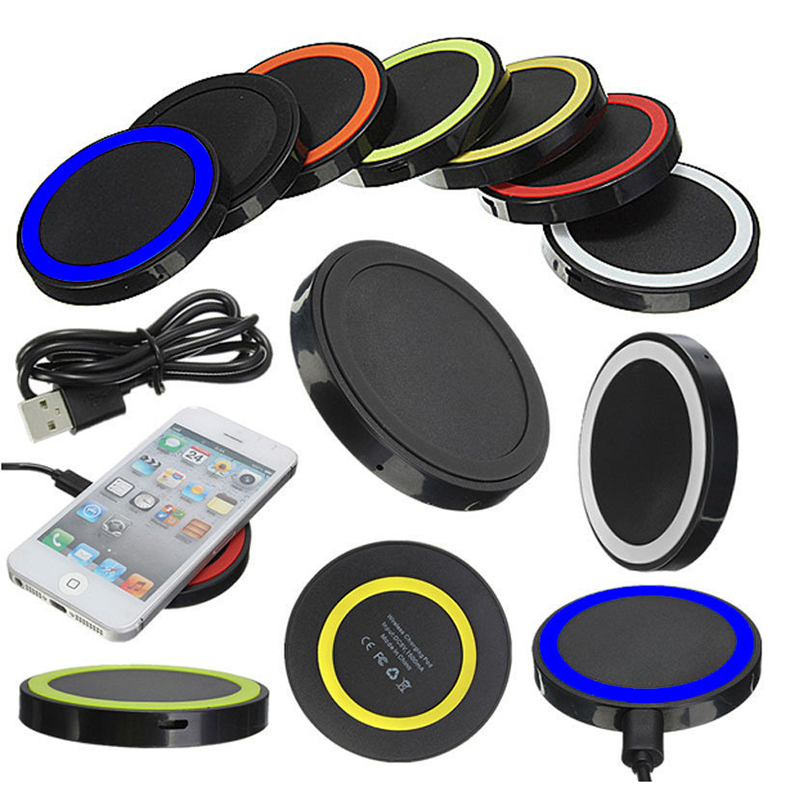 Mini Qi Wireless Charger USB Charge Pad