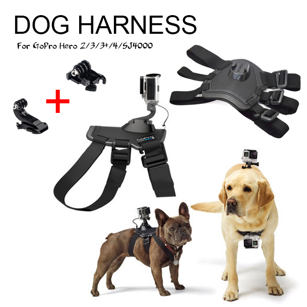 New Go Pro Accessories For Gopro Fetch Mount Dog Harness Dog Chesty