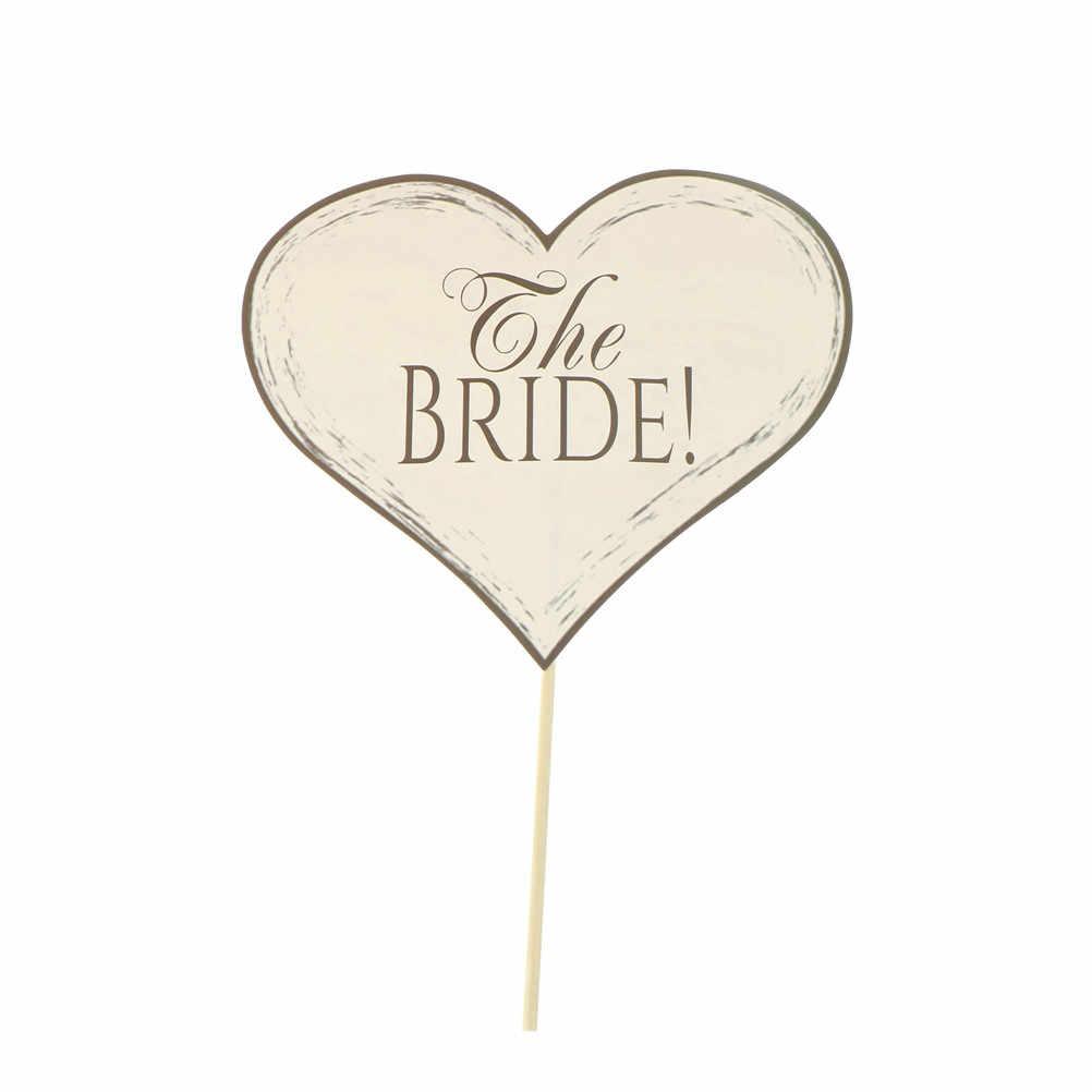 10 шт невесты быть фото стенд реквизит старинные свадебные украшения свадебный душ принадлежности для вечеринки-девичника