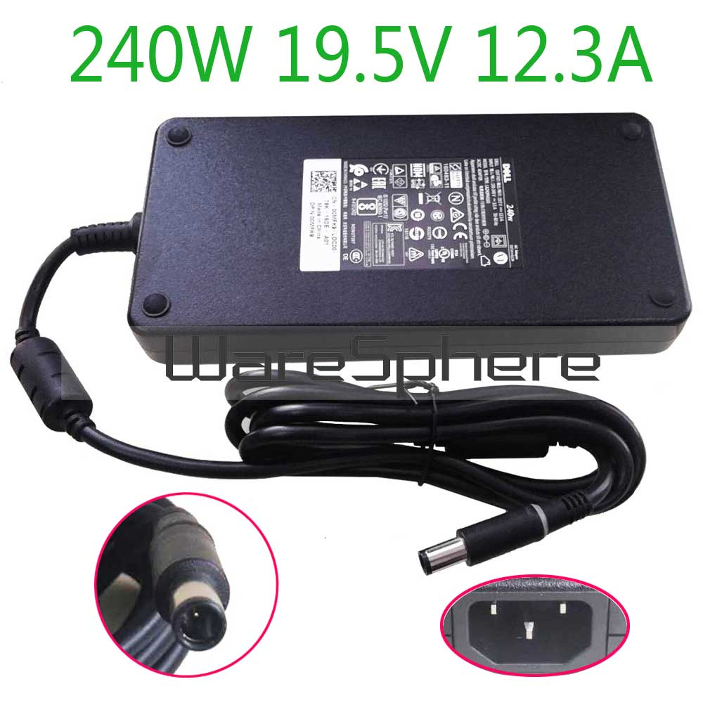 Новинка 240 Вт 19,5 в а PA 9E AC DC источник питания адаптер для ноутбука зарядное устройство для Dell Alienware M17X R2 M17X R3 M6600 M6700 0MFK9 00MFK9