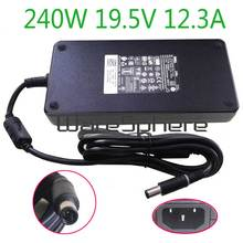 Nieuwe 240W 19.5V 12.3A PA 9E Ac Dc Voeding Laptop Adapter Oplader Voor Dell Alienware M17X R2 M17X r3 M6600 M6700 0MFK9 00MFK9