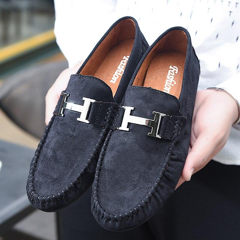 Peau Suede Pantoufles Appartements Noir Chaussures Weekender Camp Hommes bleu Moc Web Pilotes Sylvie Avec rouge Gommino Mocassins Casual D'orignal Boucle Sw1q5OO