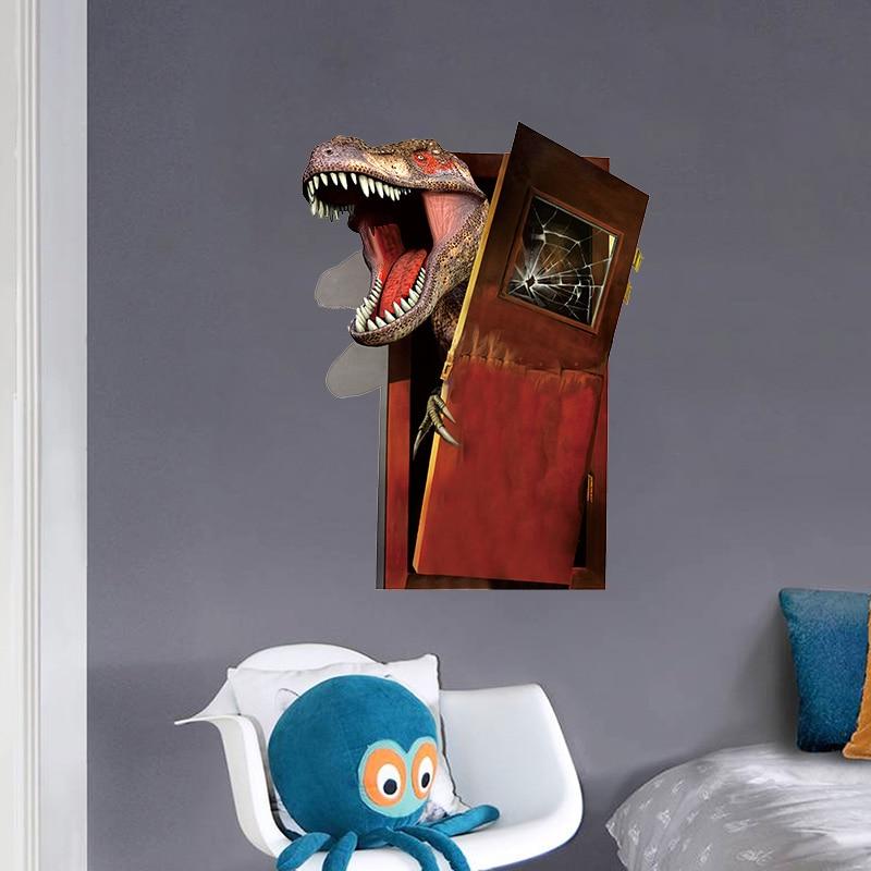 3D Dinosaur PVC Wall Stickers