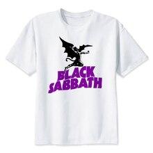 black sabbath T shirt Hip Hop Style New Original Design T-shirt Cool Fashion Man women tshirt Color MRR232