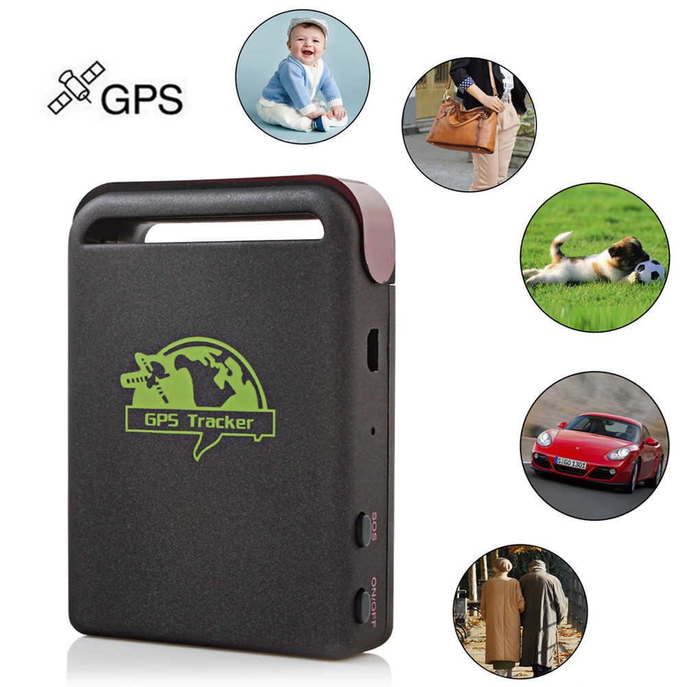 Sale! Mini Personal Car GSM / GPRS / GPS Tracker Quad 4 Band Vehicle Tracking Device Locator For Elderly Children Kids Pet lson tk103a multi function gsm gprs gps sms car vehicle positioning tracker black