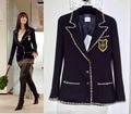 Terno da moda casaco de inverno, casaco elegante outono, mulheres casacos básicos, incrível terno jaqueta feminina, Anne Hathaway blazer feminino