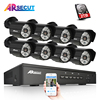 Arsecut New 1080P HD 48 IR Outdoor NightVsion Video Surveillance POE Camera Plug And Play 48V