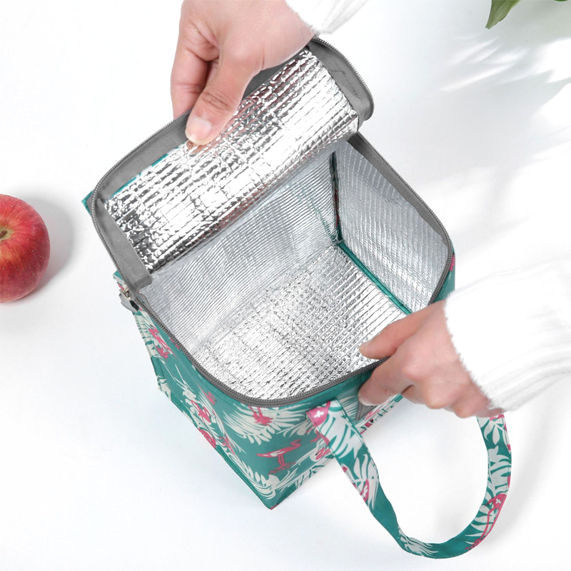 Portable Women Thermal Lunch Bag Picnic Thermo Cooler Case Girl Insulated Food Storage Container Accessories Supply Product Item