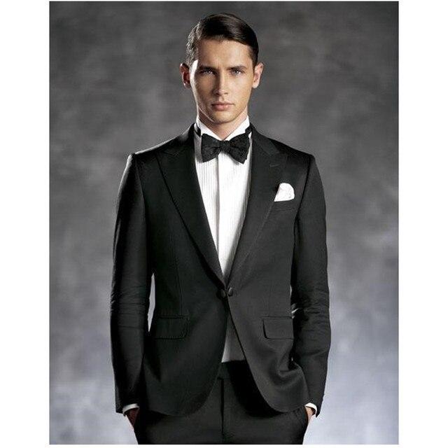 Nuevo trajes de hombres de vestir boda Trajes para hombres solapa slim fit  Esmoquin novio un 4dcef65d3f2