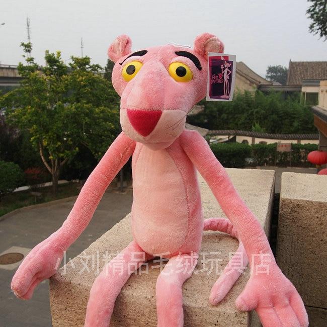 stuffed animal 110 cm pink panther plush toy soft leopard doll w1473