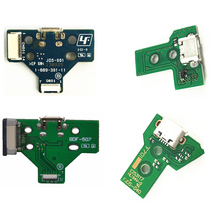 2pcs/lot 12pin 14pin Connector USB Triangle Charging Board Socket For Playstation 4 PS4 Pro JDS030 JDS-040 JDM 040 controller 5 in 1 jds 001 jds 011 12pin 14pin power charge board