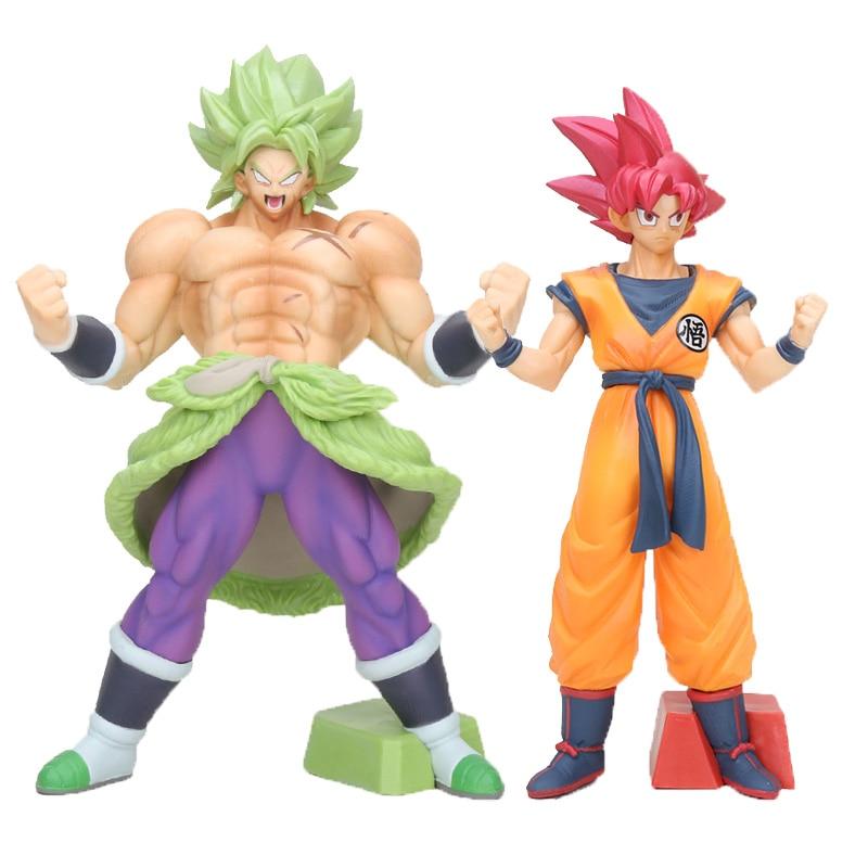 Collections Anime Jouets Dragon Ball Z Saiyan Broly Figure Figurine Statues 24cm