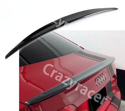 A5 Coupe 2 двери углерода Волокно задний багажник загрузки спойлер крыло для Audi A5 2008-2016 S линии стиль