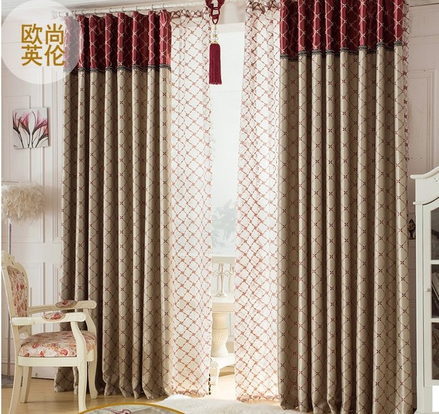 Blackout Curtain With Rings Or Hooks,free Triming For Different Size ,1649  ,ready
