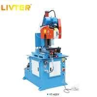 LIVTER Hydraulique semi-automatique de coupe machine pour tuyaux en acier inoxydable de coupe
