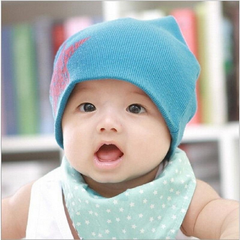 1 Piece Winter Autumn Crochet Baby Hat Girl Boy Cap Unisex Beanie Star Cotton knitted toddlers New Children 5 colors