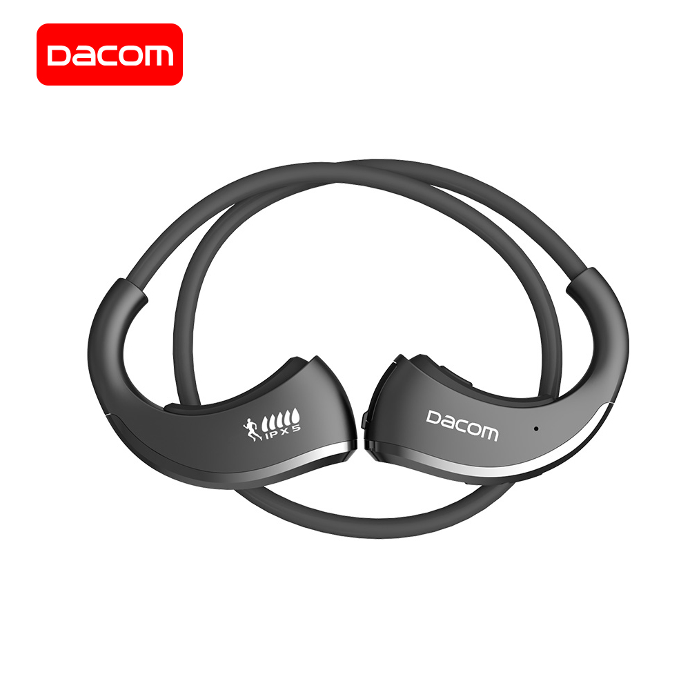 DACOM G06 IPX5 Esportes Fone de Ouvido Bluetooth Fone de Ouvido Sem Fio Neckband fone de Ouvido Estéreo À Prova D' Água sagacidade Microfone para iPhone Samsung
