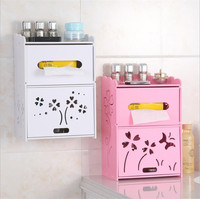 Toilet carved lovely personalized paper towel box toilet paper box paper box creative roll paper tube B