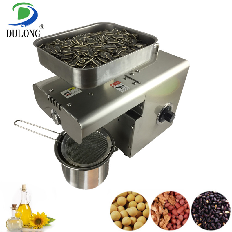 Intelligent temperature control plant oil press machine sunflower seed soybean peanut black sesame etc oil making machine zyj 02 new oil press machine hot and clod pressing for peanut soybean sesame oil making machine high oil extraction rate