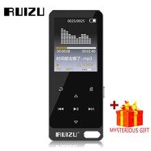 Wholesale Ruizu Touch Sport Audio Mini Mp3 Player Music Audio Mp 3 Mp-3 With Radio Digital Hifi Hi-Fi Screen Fm Flac Usb 8Gb Recorder Lcd
