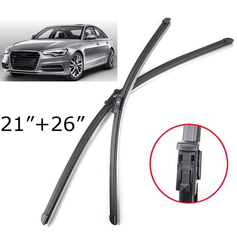 "Misima 26""+21""Windshield Windscreen Wiper Blades For Audi"