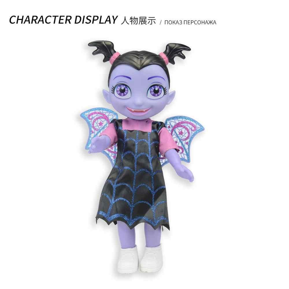 Junior Vampirina Toy Dolls With Light & Music Vampirina Girl Figure Toys For Children Brinquedos