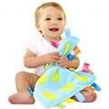 1 unids Super Suave Toalla Bebé 0 M + Felpa Calmar Reconfortante Juguete Educativo Manta de Seguridad