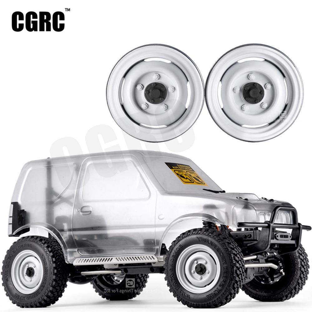 4pcs Metal 1.9inch Classic Wheel Hub Rim Beadlock For 1/10 RC Crawler Car TRX4 RC4WD D90 Axial SCX10 VS4-10 JIMNY GEN8
