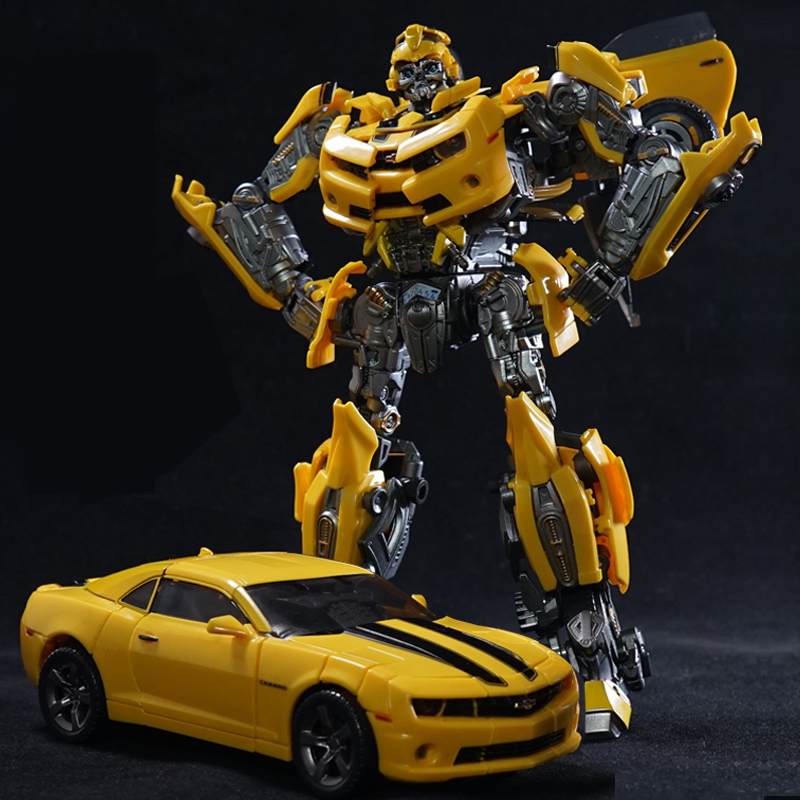 20cm WeiJiang Transformation 5 MPP27 Ironhide Oversized MPP 27 Transformation Toy car Robot Action Figure model Last Knight image