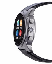 Original Bluetooth 3,0 Smart Uhren A88 Smartwatch Kamera Passometer Herzfrequenz Tracker Für iOS Android Handys Support Sim-karte