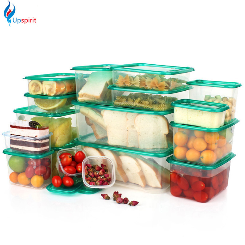 17pcsset plastic storage box plastic food container food storage container set fresh box