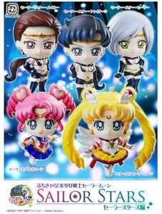 Image 2 - PrettyAngel Original Megahouse Petit Chara marin étoile étoiles marins lune figurines lot de 5 pièces