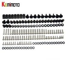 Complete Fairing Bolt nut screw Kit For HONDA CBR600RR CBR 600 RR 2007-2010 2007 2008 2009 2010 fairing bolt screw Accessories