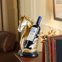 Steed Wine Rack Decoration Best Bottle Holder Creative Retro Resin Wine Stand Bar Decor Wine Accessories Home Decoration